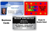 Three Business Cards by South Side Signs