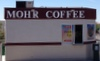 Mohr Coffee sign by South Side Signs
